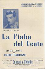 LA FIABA DEL VENTO (ALBERTO REDI) Enrico Randazzo # SPARTITO - orch. A. Roelens