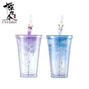 The Untamed Original Jiang Lan Wangji Wuxian AS Straw Cup Sa