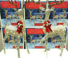 5ft Indoor/outdoor Christmas Reindeer Family - Set of 2 Bucks With 480 LED Light