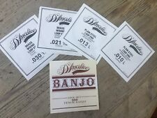 D'Angelico Tenor Banjo Strings Special Offer Also will fit Mandolin