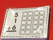 Three Digit Addition - Cards for Learning Centers 36 Laminated Cards