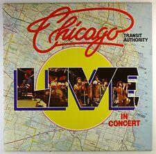 """12"""" LP-Chicago transit Authority-Live in Concert-a4009-washed & cleaned"""