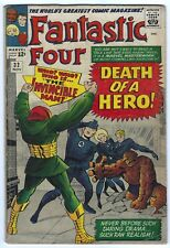 Fantastic Four #32 Silver Age Marvel Comic Book 4.5 Vg+ Stan Lee Jack Kirby