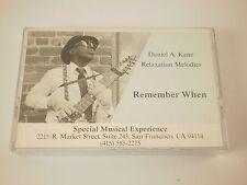 Daniel A Kane Remember When Relaxation Melodies Chapman Stick San Francisco 1989