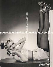 BEAUTIFUL ACTRESS AUDREY KORN LEGGY IN NYLONS PHOTO A-AKOR