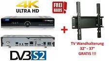 OCTAGON SF8008 4K UHD 2160p Multistream DVB-S2X + TV Halterung GRATIS TOP