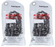 """WAR Tec 20"""" MOTOSEGA SAW CHAIN Confezione da 2 si adatta Tarus MT-9999 una qualità premium CE"""