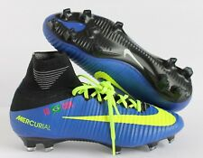 NIKE MERCURIAL SUPERFLY FG ID BLUE-VOLT-BLACK SZ 6.5 [845894-997]