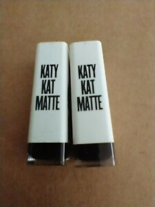 (2) Covergirl Katy Kat Matte Lipstick Created by Katy Perry - Choose Color