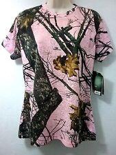Womens Mossy Oak, Pink BURNOUT sz.Lg