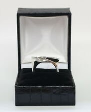 Danish silver ring designed and made by Silversmith in Kolding Denmark