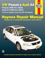 96-05 VW Passat Audi A4 Repair Manual HAYNES 96023