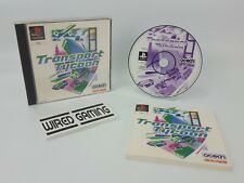 Transport Tycoon - PS1 (Sony Playstation 1) Complete (PAL) Black Label