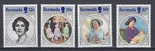 Bermuda 456 - 461 postfrisch 85. Geburtstag von Königinmutter Elisabeth