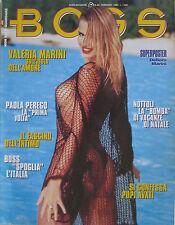BOSS 27 1996 Valeria Marini Francesca Dellera Elizabeth Nottoli Paola Perego