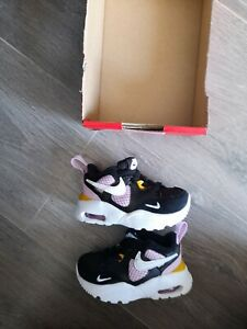 BABY GIRLS NIKE AIR MAX FUSION TRAINERS SIZE C2.5