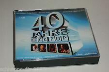 40 JAHRE ROCK POP 4 CD'S MIT DONOVAN VAN MORRISON BOBBY VINTON ELO MEN AT WORK