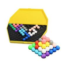 Interesting Wisdom IQ Pyramid Beads Puzzle for Kids Early Learning Education