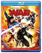 Blu Ray JUSTICE LEAGUE WAR. DC comics animation. Region free. New sealed.