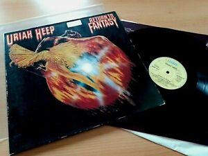 Uriah Heep - Return To Fantasy LP '75 Original Bronze German Press FOC OIS EX