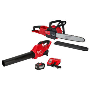 Milwaukee 2727-21HDP M18 FUEL Chainsaw Kit with Free Blower Kit