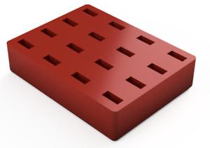 USB A Device Memory Stick Organizer Desktop Block Thin