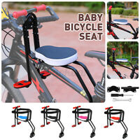 Bicycle Child Baby Chair Bike Front Safety Release Saddle Seat Cycling Parts *&