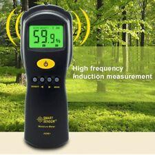 Digital Wood Moisture Meter Hygrometer Humidity Tester AS981 Damp Detector