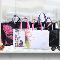 Eco Waterproof Non-woven Fabric Shopping Bag Reusable Tote Pouch Women Storage.