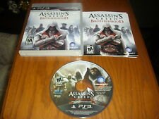 Assassin's Creed: Brotherhood (Sony PlayStation 3, 2010) PS3