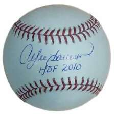 7f3587d8a7e Andre Dawson Autographed Signed Chicago Cubs OML Baseball HOF JSA 15079