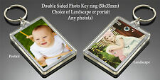 Personalised Photo Keyring Gift - Selfie Couple Wedding Family *ADD ANY PHOTO*