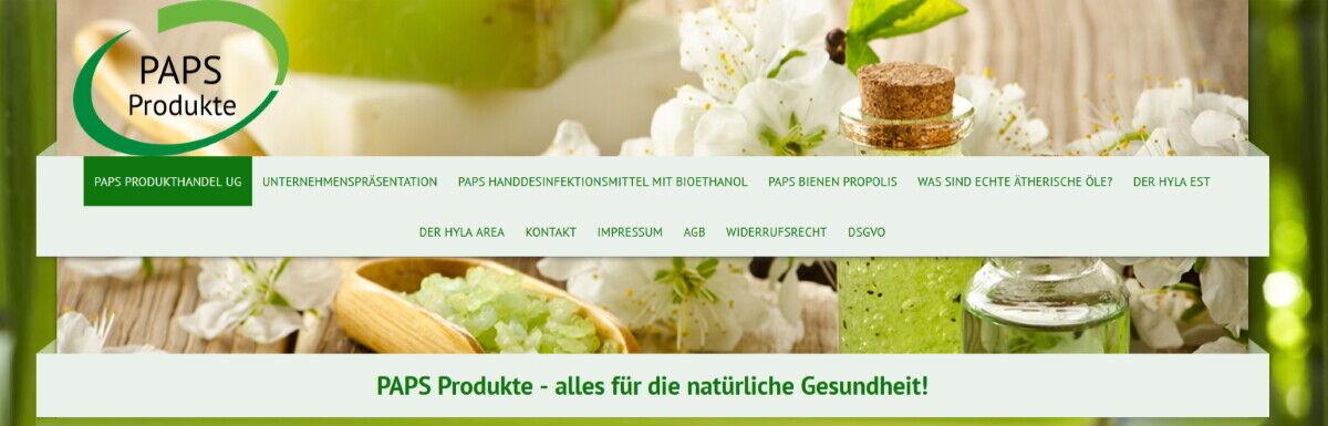 PAPS Produkthandel