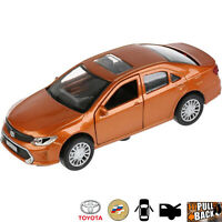 1:36 Scale Diecast Metal Model Car Toyota Camry Brown Die-cast Toy Cars