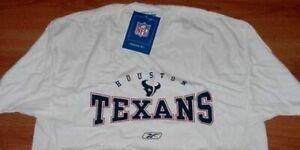 Houston Texans T-shirt Large Cool Logos Reebok Blowout Prices NFL