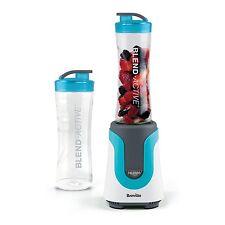 Breville Smoothie Maker Blender Food Processor Frozen Drink Sport Bottle Blue