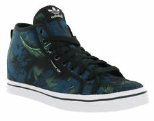 adidas Canvas Lace Up Floral Trainers for Women