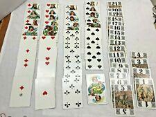 Vintage used Tarock Playing Cards Ben Franklin Store, Schuyler, Nebraska