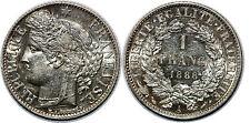 1 FRANC 1888 A SPL