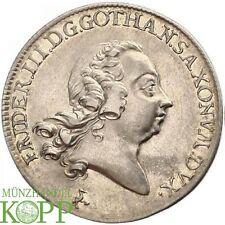 E827) Sachsen-Gotha-Altenburg 1/2 Taler 1764 Friedrich III. 1732-1772