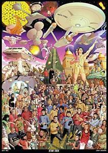 Star Trek - The Original Series - 500 Piece Jigsaw Puzzle