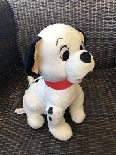 Disney Store Lucky 101 Dalmatians Plush Puppy Dog Stuffed Animal Red Collar