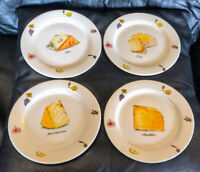 """The CELLAR Federated Department Appetizer/Salad/Dessert Plate Set Cheese 7 1/2"""""""