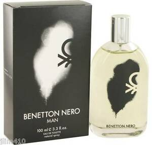 jlim410: United Colors of Benetton Nero for Men, 100ml EDT Free Shipping