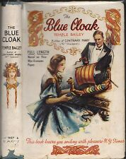 Vintage TEMPLE BAILEY - THE BLUE CLOAK (HCDJ; 1942)
