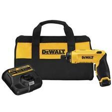 "DeWALT 8V MAX* 1/4"" Hex Gyroscopic Screwdriver Driver Tool - DCF680N1"