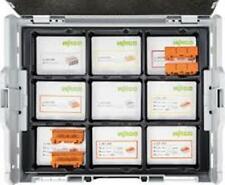 Wago Connector Set L-Boxx 887-917 221 & 2273 Connecteurs dans boîtier en plastique