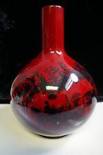 Vintage Royal Doulton Flambe Vase - Woodcut 1618