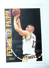 CARTE NBA BASKET BALL 1995 PLAYER CARDS CHRIS MULLIN (210)
