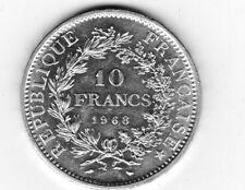 **1 PIECE  DE  10 FRANCS  HERCULE  DE 1968  EN  ARGENT**